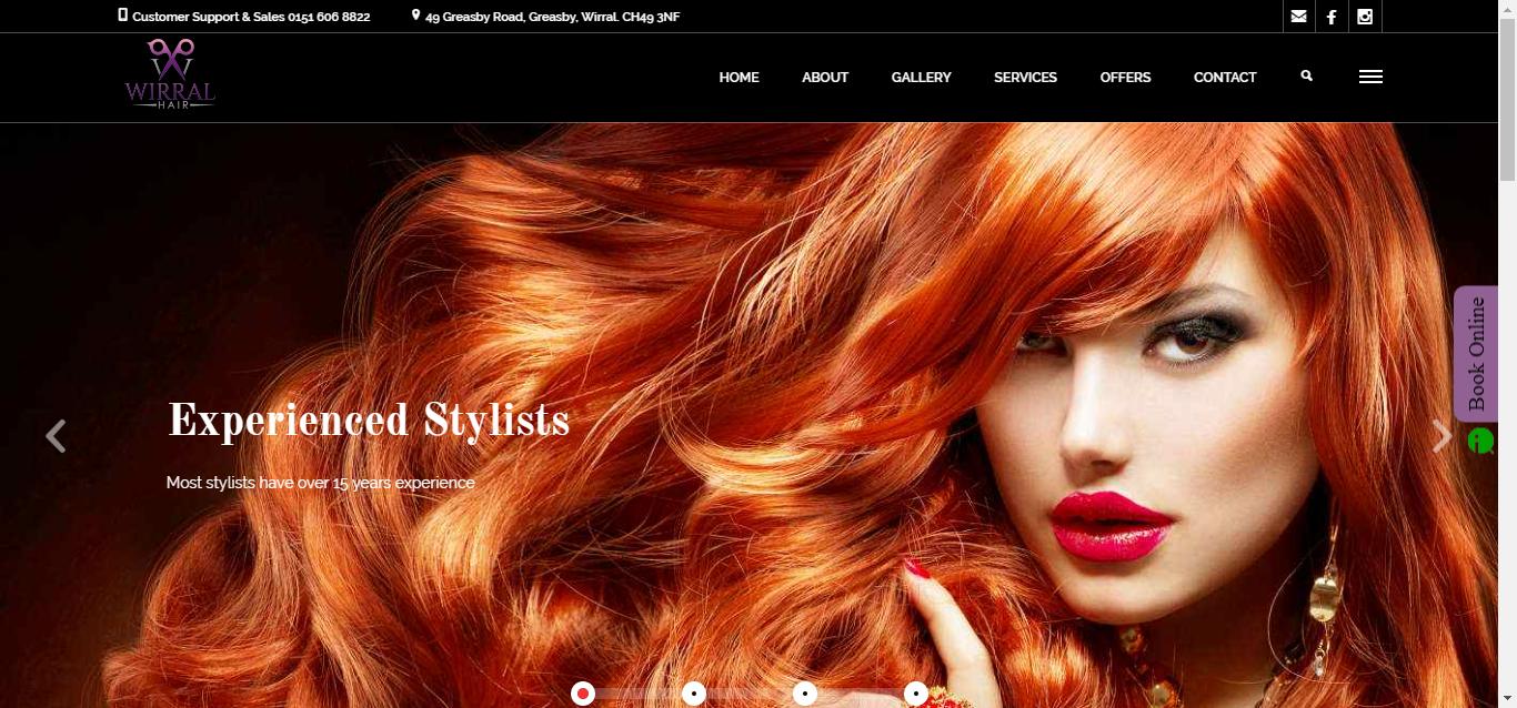 Wirral Hair by AshPark Digital Services