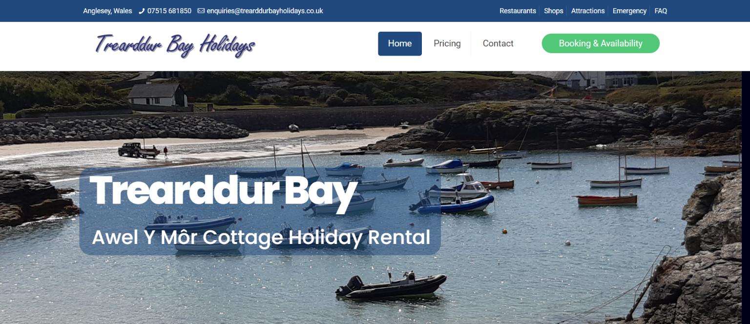 Trearddur Bay Holidays